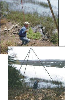 Bull Gator Tripod is excellent for hoisting and lifting